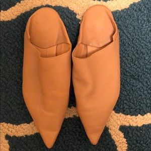 Topshop Pointy Toe Mules